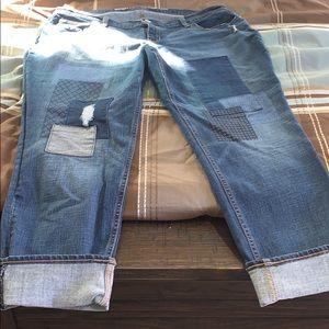 ON denim jeans worn once